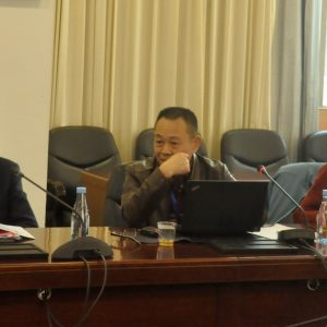 FAN Hangqing attend International Workshop on Integrated and Ecosystem-Based Ocean Management and Governance